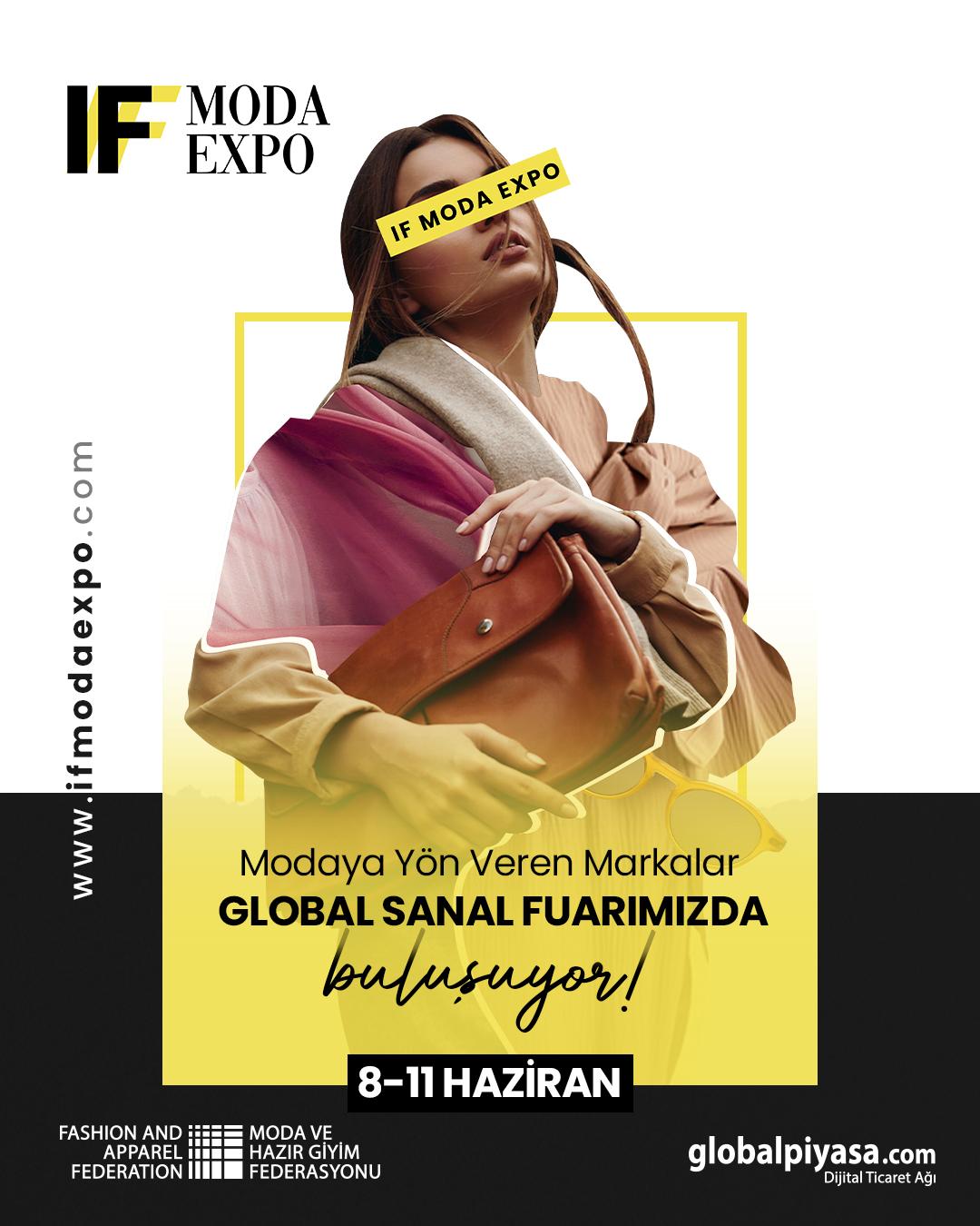 IF MODA EXPO Sanal Fuarı ile Sınırları Aşın!