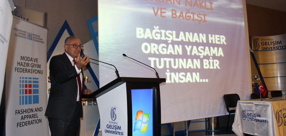 Moda ve Hazır Giyim Federasyonu, Candostu, Gelişim Üniversitesi'nde organ bağışını anlattı