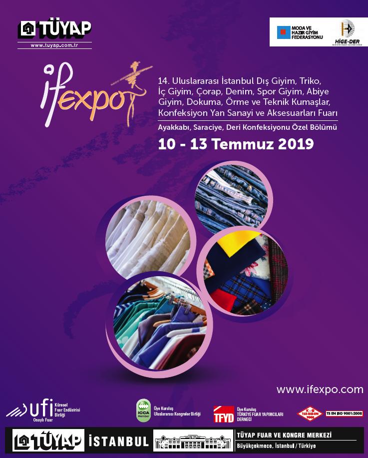 İFEXPO Uluslararası Hazır Giyim ve Kumaş Fuarı