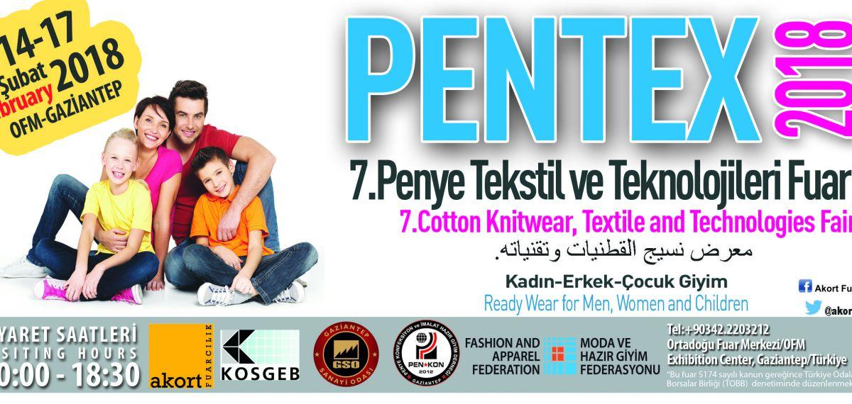 PENTEX Penye Tekstil ve Teknolojileri Fuarı kapılarını açıyor