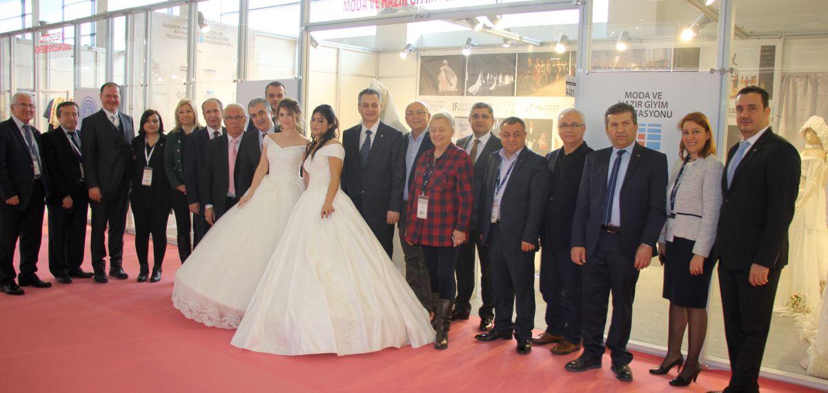 Gelinlik sektörünün Avrupa'da çekim merkezi İF Wedding Fashion Fuarı kapılarını açtı