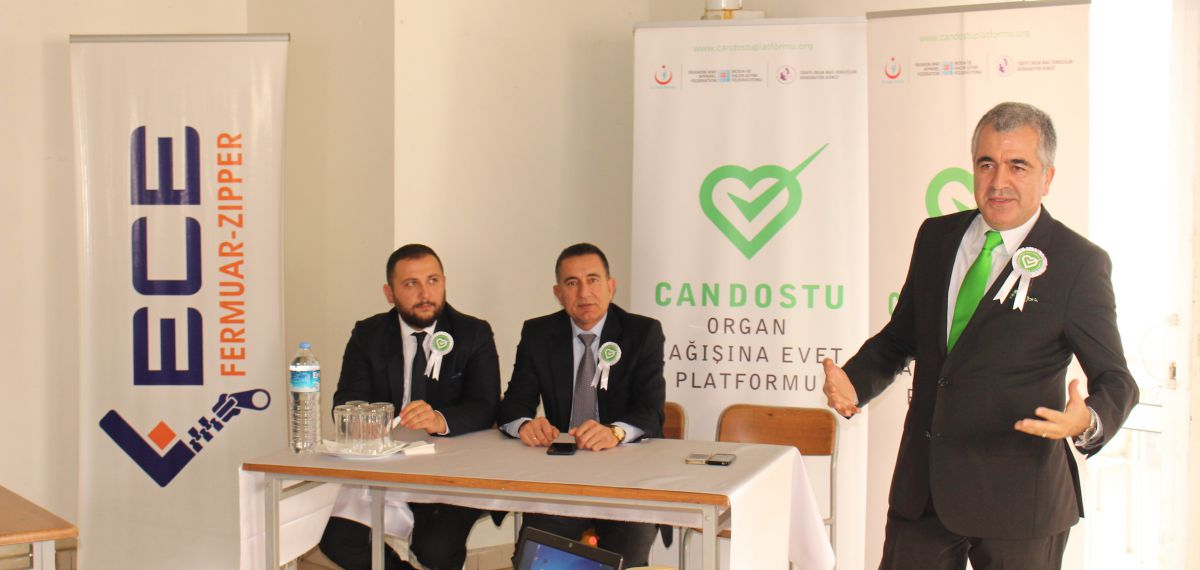 Candostu Organ Bağışına Evet Platformu Bilgilendirme Toplantıları Sürüyor
