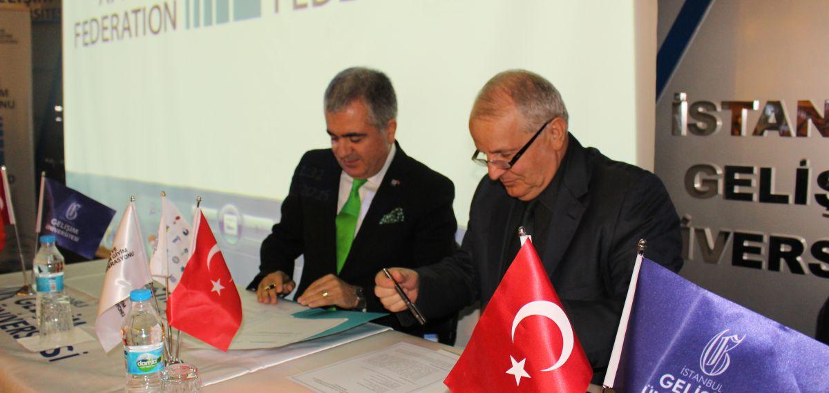 MHGF ile İstanbul Gelişim Üniversitesi arasında işbirliği