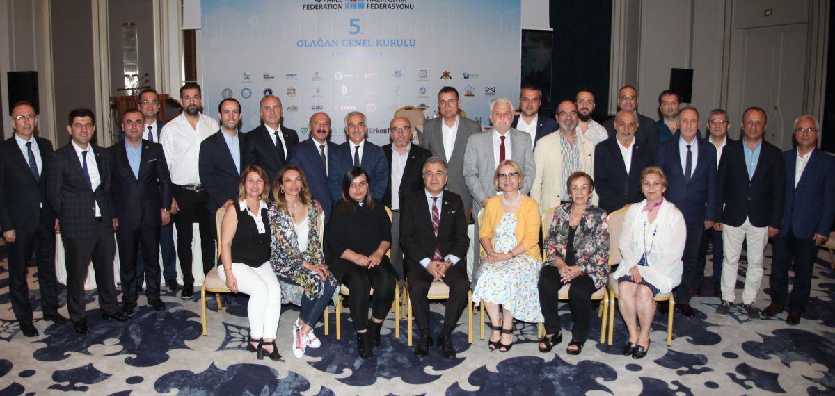 Hüseyin Öztürk yeniden MHGF Başkanı seçildi